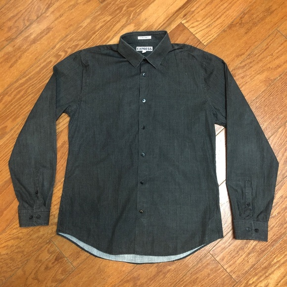41791f4d56 Express Shirts | Mens Extra Slim Fit Dress Shirt | Poshmark